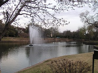University Park, Texas - Williams Park, located in University Park