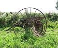 A rusty old hay rake - geograph.org.uk - 1445524.jpg