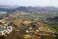 A view of Udaipur Aravalli Hills Rajasthan India.jpg