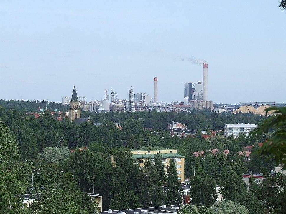 A view over Kuusankoski