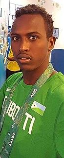 Abdi Waiss Mouhyadin Djiboutian athlete