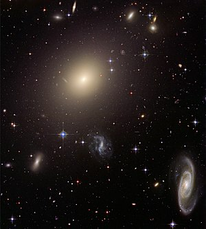 Hubble Illuminates Cluster of Diverse Galaxies (Abell S740)