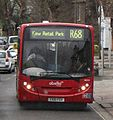 Abellio London bus 8534 (YX10 FEM) 2010 Alexander Dennis Enviro200 Dart integral, Hampton, route R68, 30 March 2011.jpg