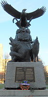 Aboriginal War Veterans monument.JPG