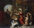 Achilles recognized by Ulysses at the Court of Lycomedes (Gerard de Lairesse) - Nationalmuseum - 17497.tif