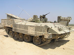Battle of Jenin - IDF Achzarit.