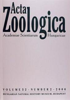 <i>Acta Zoologica Academiae Scientiarum Hungaricae</i> Academic journal