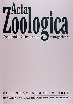 Acta Zool Acad Sci Hung
