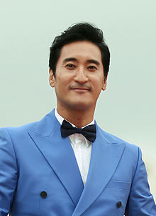 Actor Shin Hyun-joon at the Pifan opening ceremony on July 17, 2014.jpg