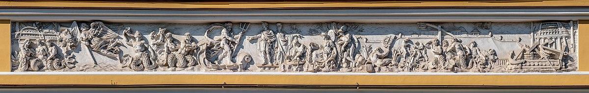 Фриз здания Адмиралтейства. Автор - Florstein