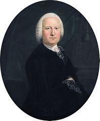 Portret van Abraham Adriaen du Bois (1713-1774)