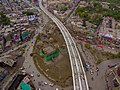 Aerial view of Chauburji and Orange Line.jpg