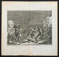Afgryselyke wreedheyd der Spanjaarden in de plonderinge van Antwerpen gepleegt aen seekre Bruyd. A° 1576.