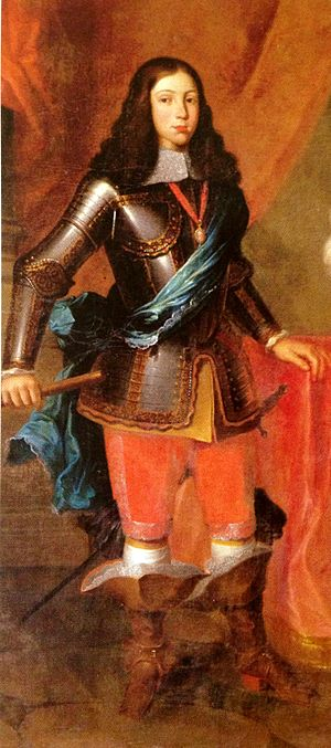 History of Portugal (1640–1777) - Afonso VI, second King of the House of Braganza.