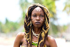 Haya people - Haya girl of Tanzania