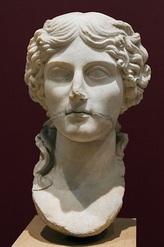 Agrippina the Elder - Portrait of Agrippina found in Pergamon, İstanbul Archaeology Museums
