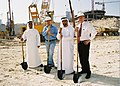 Ahmed Sultan Bin Sulayem during Almas Tower Ground Breaking in 2005.jpg
