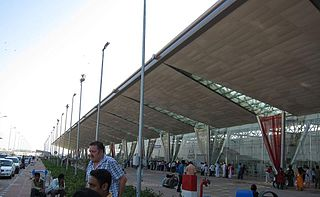 International airport in Ahmedabad, India
