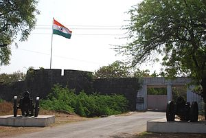 Ahmednagar - Ahmednagar fort entrance
