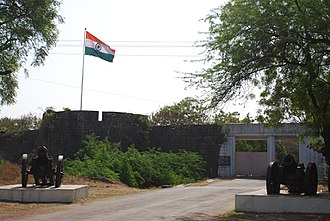 Ahmednagar - Ahmednagar fort entrance.