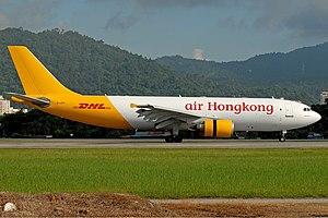Air Hong Kong - Image: Air Hong Kong Airbus A300 Prasertwit