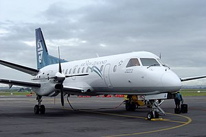 Air Nelson - Air Nelson Saab 340A at Auckland International Airport in November 2005