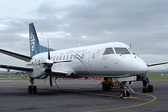 Air New Zealand - Air Nelson Saab 340A (no longer operated) at Auckland Airport