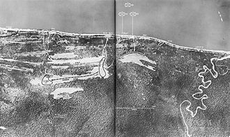 Landing at Aitape - Before and after photographs of the Tadji Airstrips seized during the landings