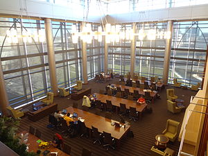 Marquette University Law School - Aitken Reading Room