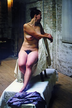 Modeling nude Baring it