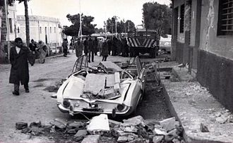 Marj - Damage during the earthquake in 1963.