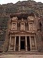 Al Khazneh (The Treasury) in Petra 1.jpg
