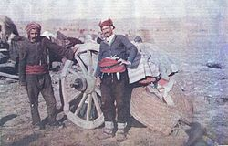 Albanian refugees of the Balkan Wars heading to Turkey.jpg