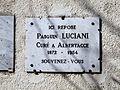 Albertacce-église plaque Luciani.jpg