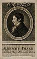Albrecht Daniel Thaer. Stipple engraving by S. Halle after J Wellcome V0005767.jpg