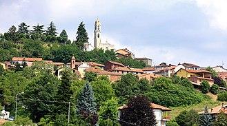 Albugnano - Image: Albugnano veduta