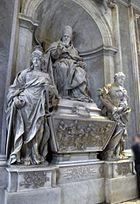 Alessandro Algardi, monumento a leone XI Medici, 1644, 01