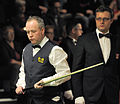 Alex Crisan and John Higgins at Snooker German Masters (Martin Rulsch) 2014-01-29 02.jpg