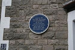Photo of Albert Victor Alexander blue plaque