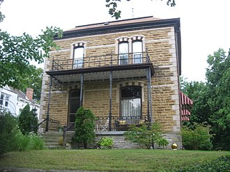 National Register of Historic Places listings in Coles County, Illinois - Image: Alexander Briggs House