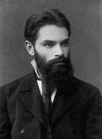 Aleksandr Lyapunov - Image: Alexander Ljapunow jung