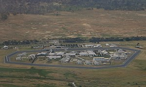 Alexander Maconochie Centre - Aerial view of the Alexander Maconochie Centre