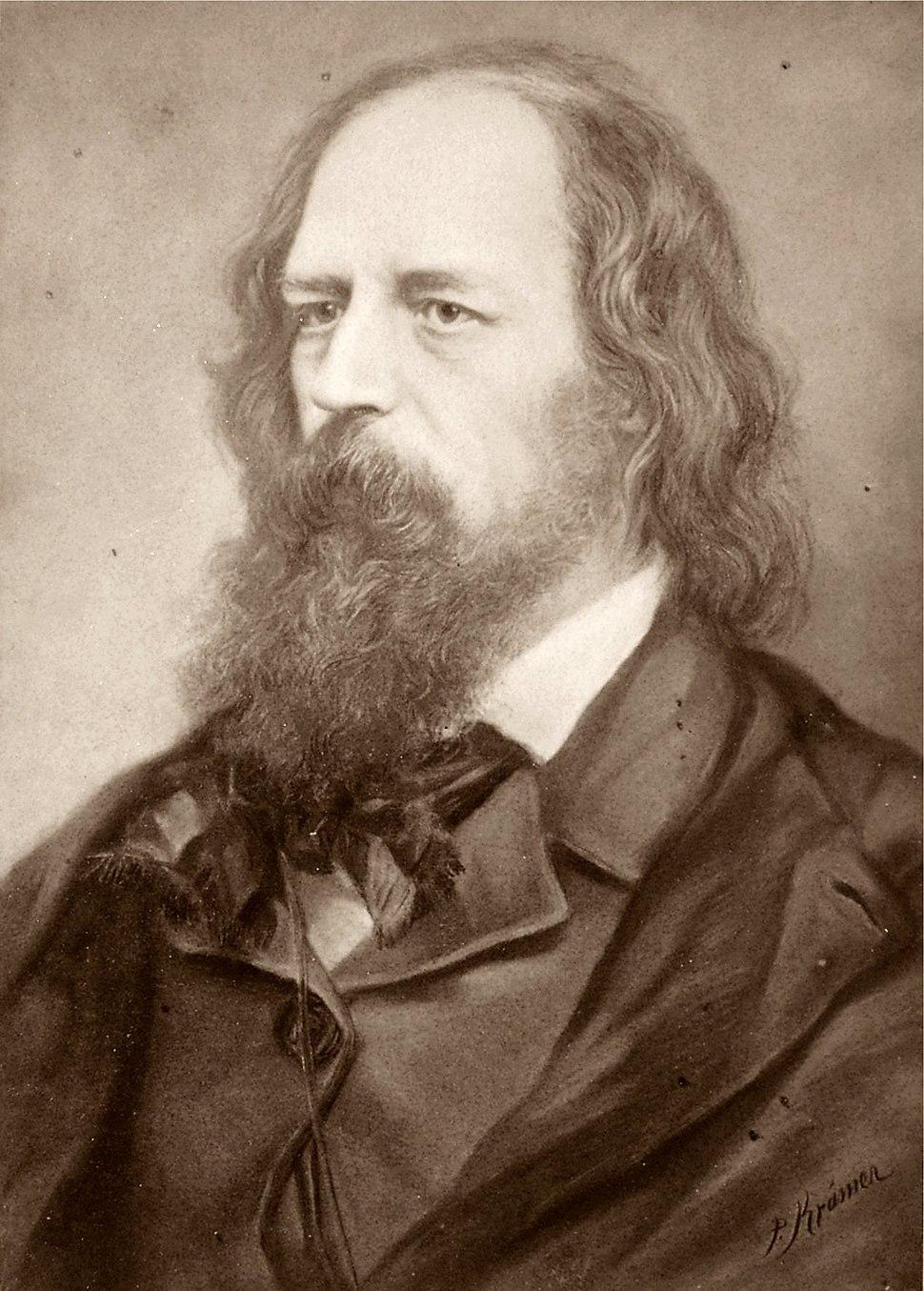 Alfred Tennyson.