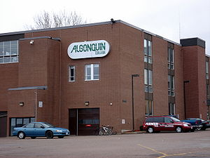 The Pembroke, Ontario campus of Algonquin College