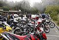 Alice's Restaurant, fog, KTM, Moto Guzzi..jpg