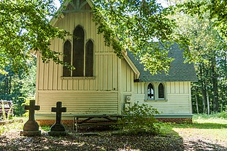 National Register of Historic Places listings in Talbot County, Maryland - Image: All Saints Church 9617