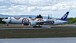All Nippon Airways (Star Wars - BB-8 livery) Boeing 777-300ER (JA789A) at Frankfurt Airport.jpg