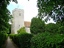 All Saints' Church, Hollingbourne - geograph.org.uk - 179260.jpg