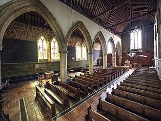 All Saints' Church, Cambridge - Image: All Saints Church, Jesus Lane, Cambridge Nave & South Aisle