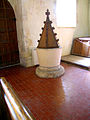All Saints Church, Little Kimble, Buckinghamshire, England. Font.jpg
